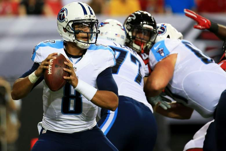 All eyes continue to be on rookie Marcus Mariota. (Getty)