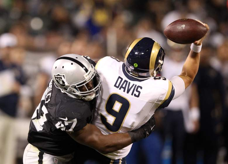 The Raiders held the Rams to 285 yards and three points last week. Getty)