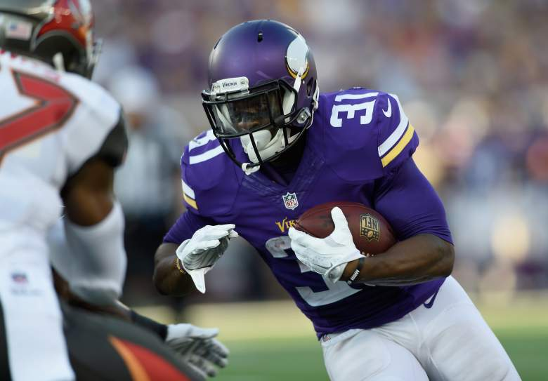 Jerick McKinnon will be busy in the preseason with the absence of Adrian Peterson. Getty)