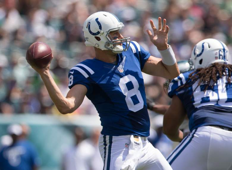 Matt Hasselbeck will turn 40 in late September. Getty)