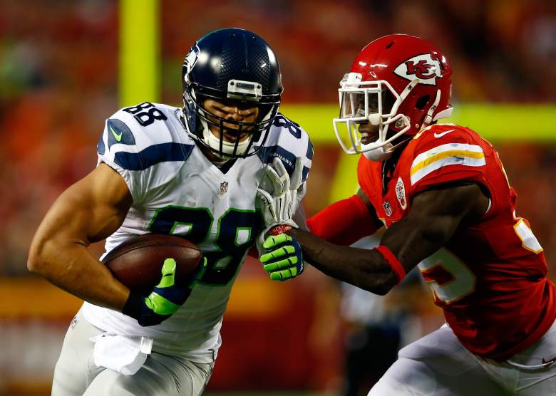 Jimmy Graham impressed against the Chiefs. (Getty)