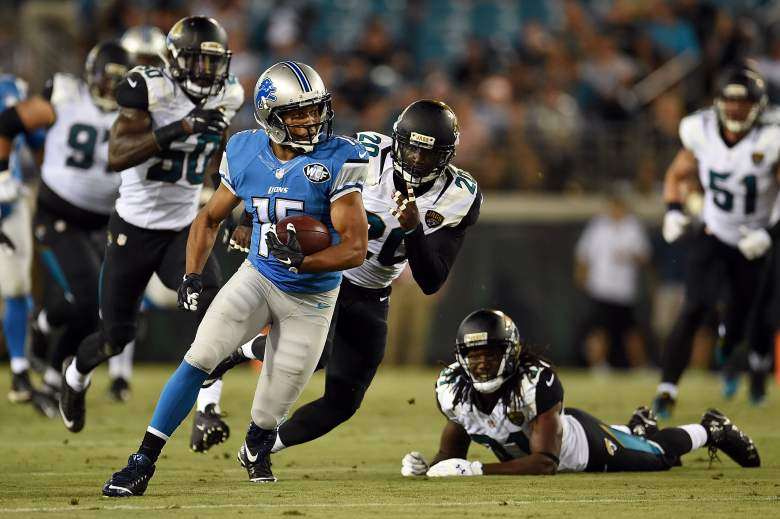 Lions receiver Golden Tate.