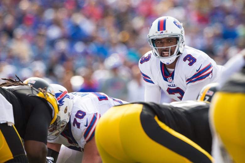 EJ Manuel threw two touchdown passes in Buffalos rout of Pittsburgh last week.