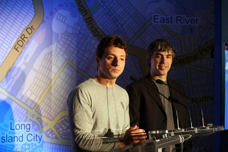 Sergey Brin and Larry Page of Google and Alphabet