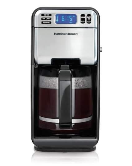 Hamilton Beach 12-Cup Digital Coffee Maker, Stainless Steel (46201), drip coffee maker