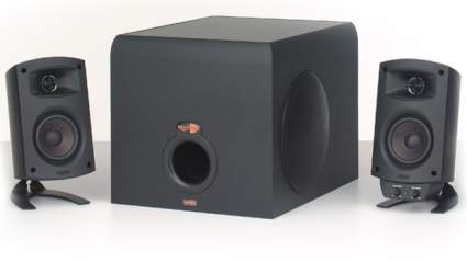 computer speakers, best computer speakers, klipsch, klipsch promedia 2.1, klipsch speakers