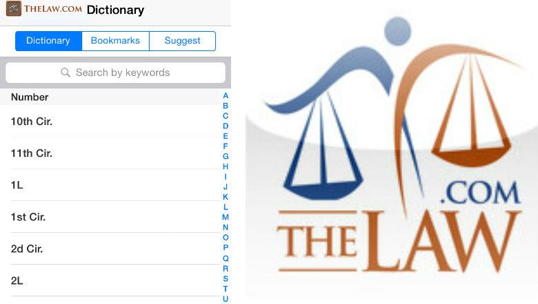 lawyer apps, law school, law blogs, law journals, law apps