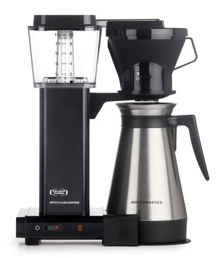Moccamaster KBT 10-Cup Coffee Brewer with Thermal Carafe, drip coffee maker