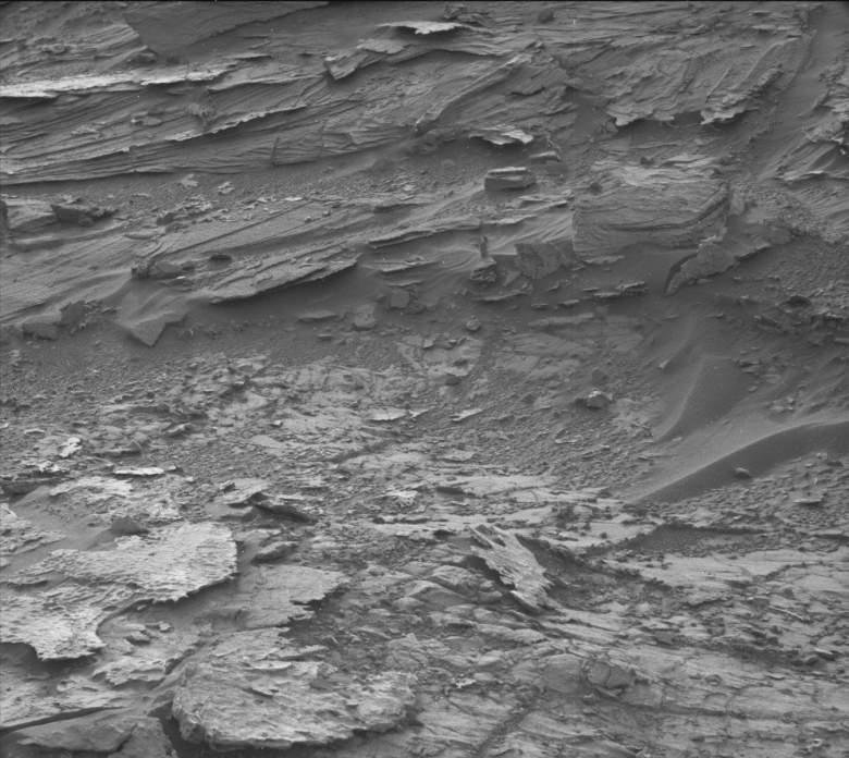 NASA woman on Mars