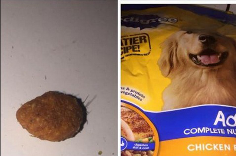 Pedigree Dog Food Wire
