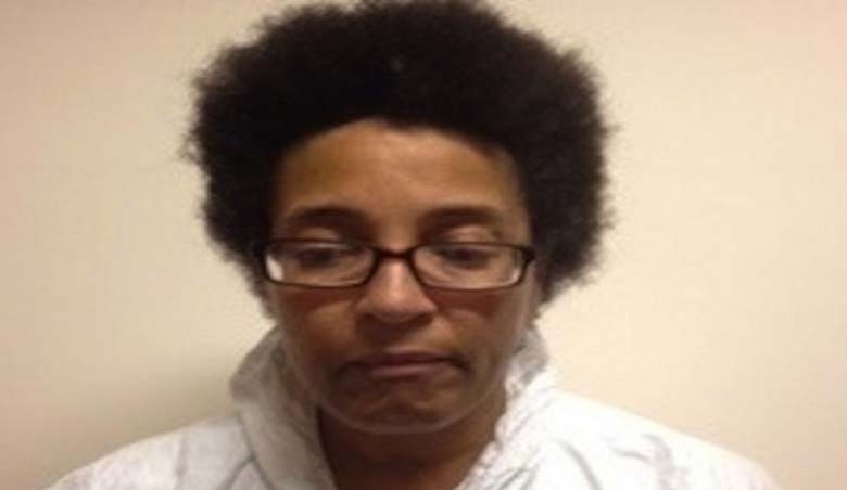 The suspect in the Maryland witchcraft murder, Rita Sanders-Campfield. (Handout)