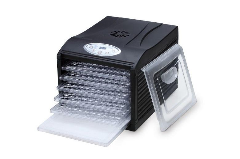 """Samson """"Silent"""" Dehydrator 6-Tray with Digital Controls, food dehydrator"""
