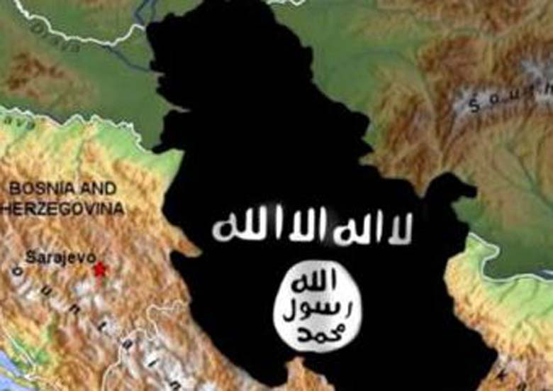 ISIS Plan for Croatia and surrounding countries.