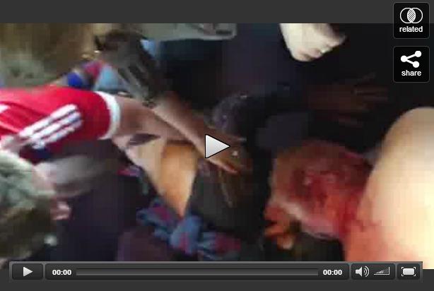 Terrorist attack on traink, Skarlatos subduing gunman