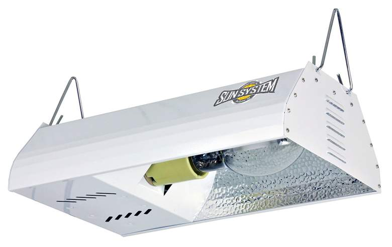 Sun System HPS 150 watt Grow Light Fixture with Ultra Sun Lamp