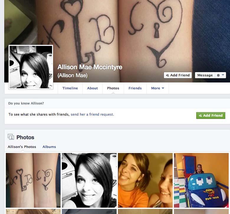 Kim Davis Daughter Facebook poodle Allison