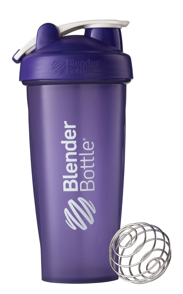 BlenderBottle Classic Loop Top Shaker Bottle, Purple, 28 Ounce, blenderbottle, blender bottle