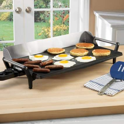 Broil King PCG-10 Professional Portable Nonstick Griddle, electric griddle