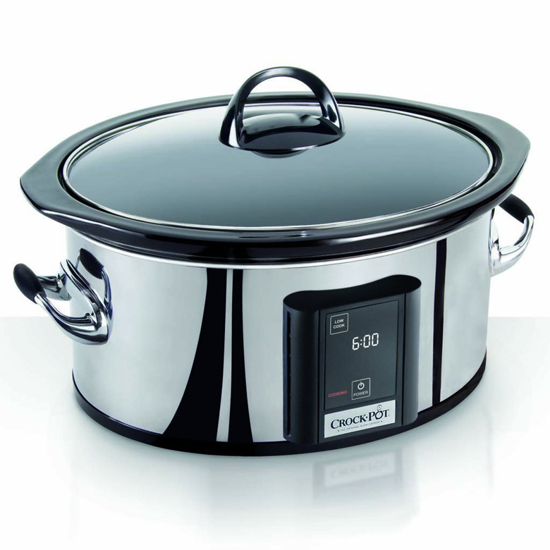 Crock-Pot Programmable Touchscreen Slow Cooker SCVT650-PS, 6.5-Quart, crock pot slow cooker, slow cooker