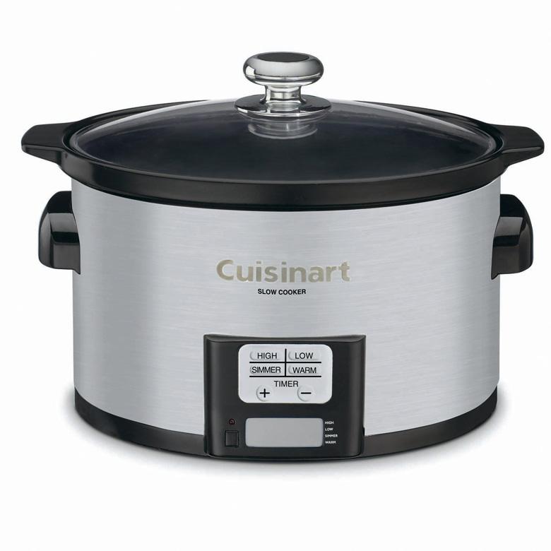 Cuisinart PSC-350 3-1/2-Quart Programmable Slow Cooker, cuisinart slow cooker, slow cooker