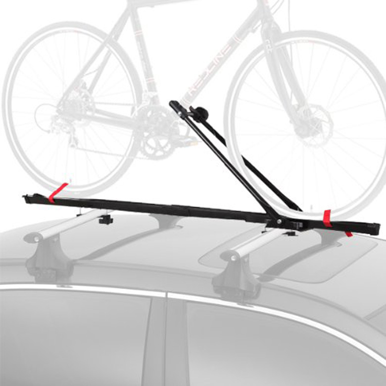 CyclingDeal 1 Bike Car Roof Carrier Rack Bicycle Racks with Lock, bike roof rack, bike rack