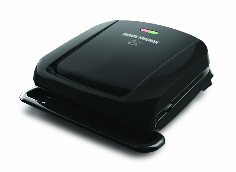 George Foreman GRP1060B 4 Serving Removable Plate Grill, george foreman grill