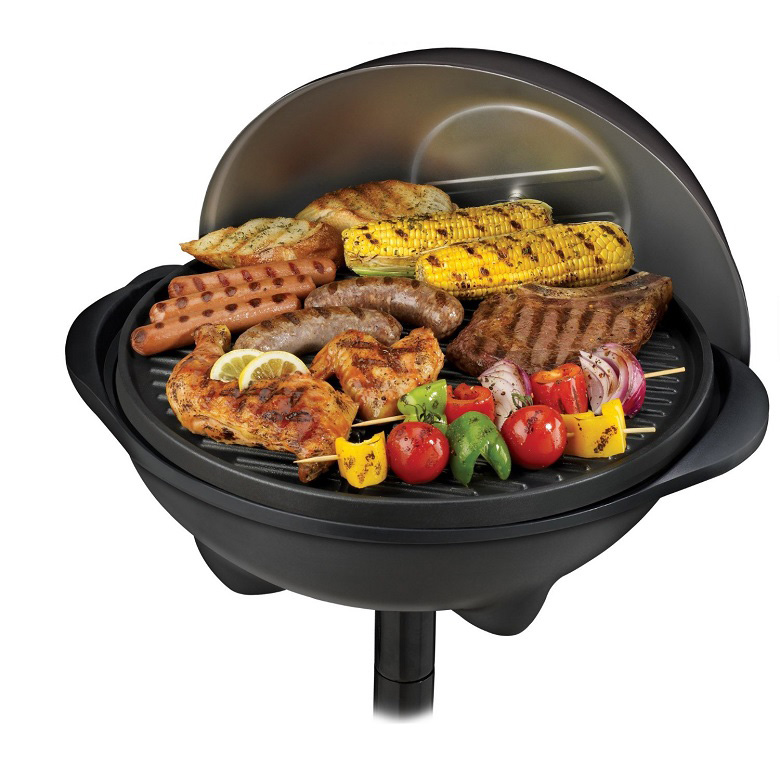 George Foreman GGR50B Indoor/Outdoor Grill, george foreman grill