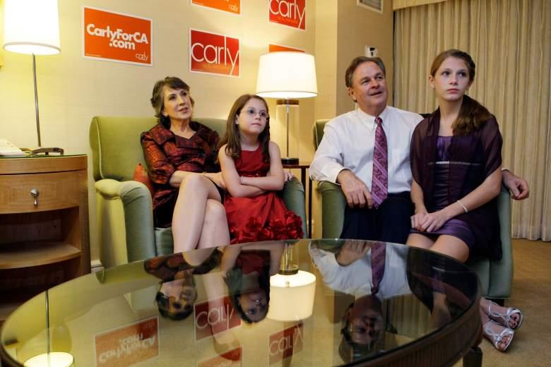 Frank Fiorina's children