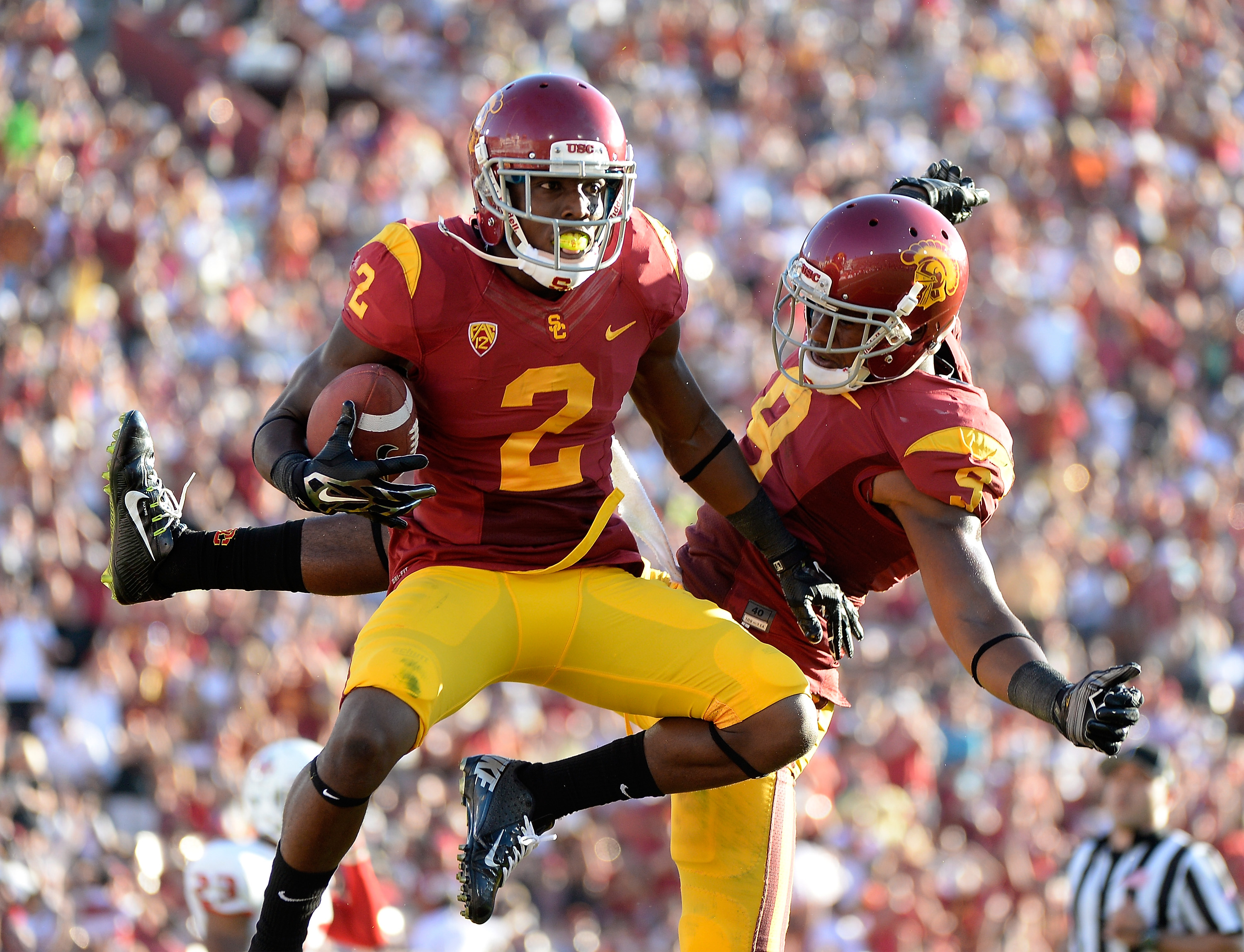 Jackson will start at corner this season, and will also be the team's primary kick returner (Getty).