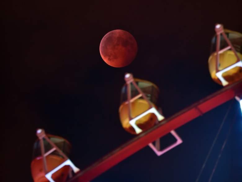 blood moon beautiful