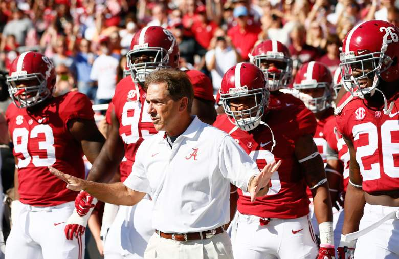 Nick Saban and Alabama is ready for another season. (Getty)