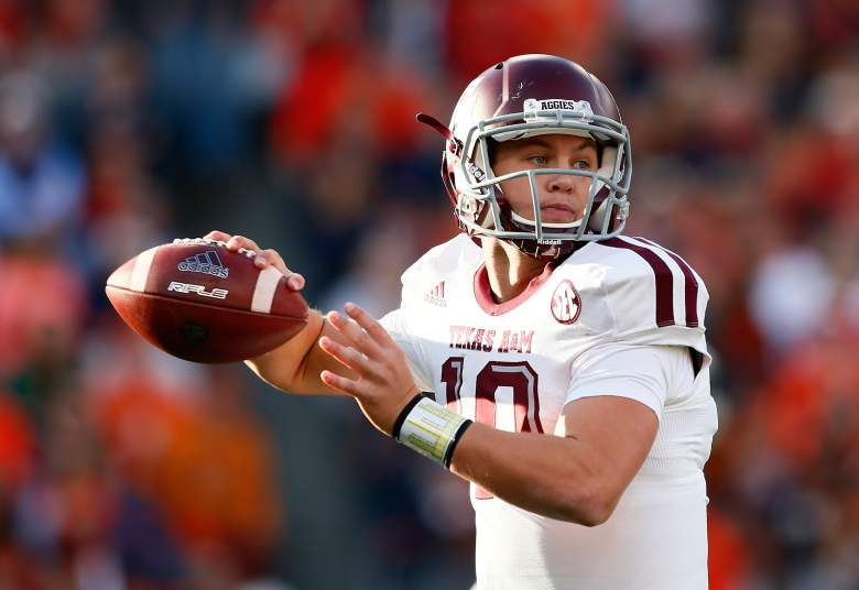 Kyle Allen returns for Texas A&M. (Getty)