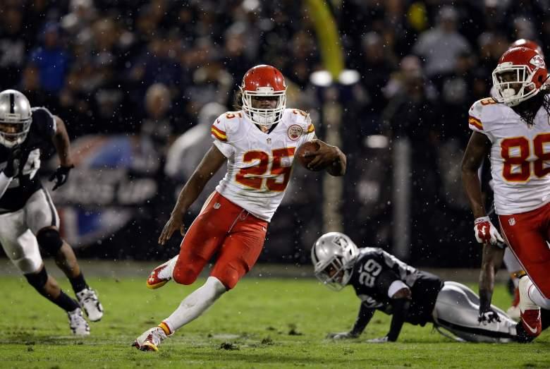 Chiefs running back Jamaal Charles is a perennial fantasy star. (Getty)