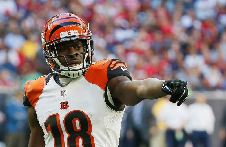 A.J. Green is one of the best receivers in football. (Getty)