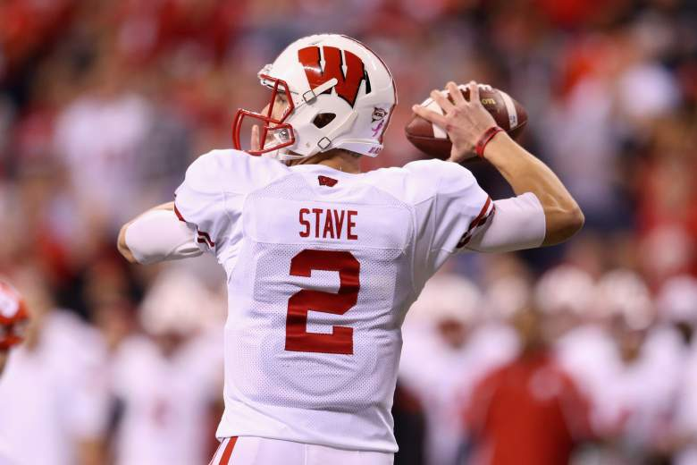 Joel Stave returns for Wisconsin. (Getty)