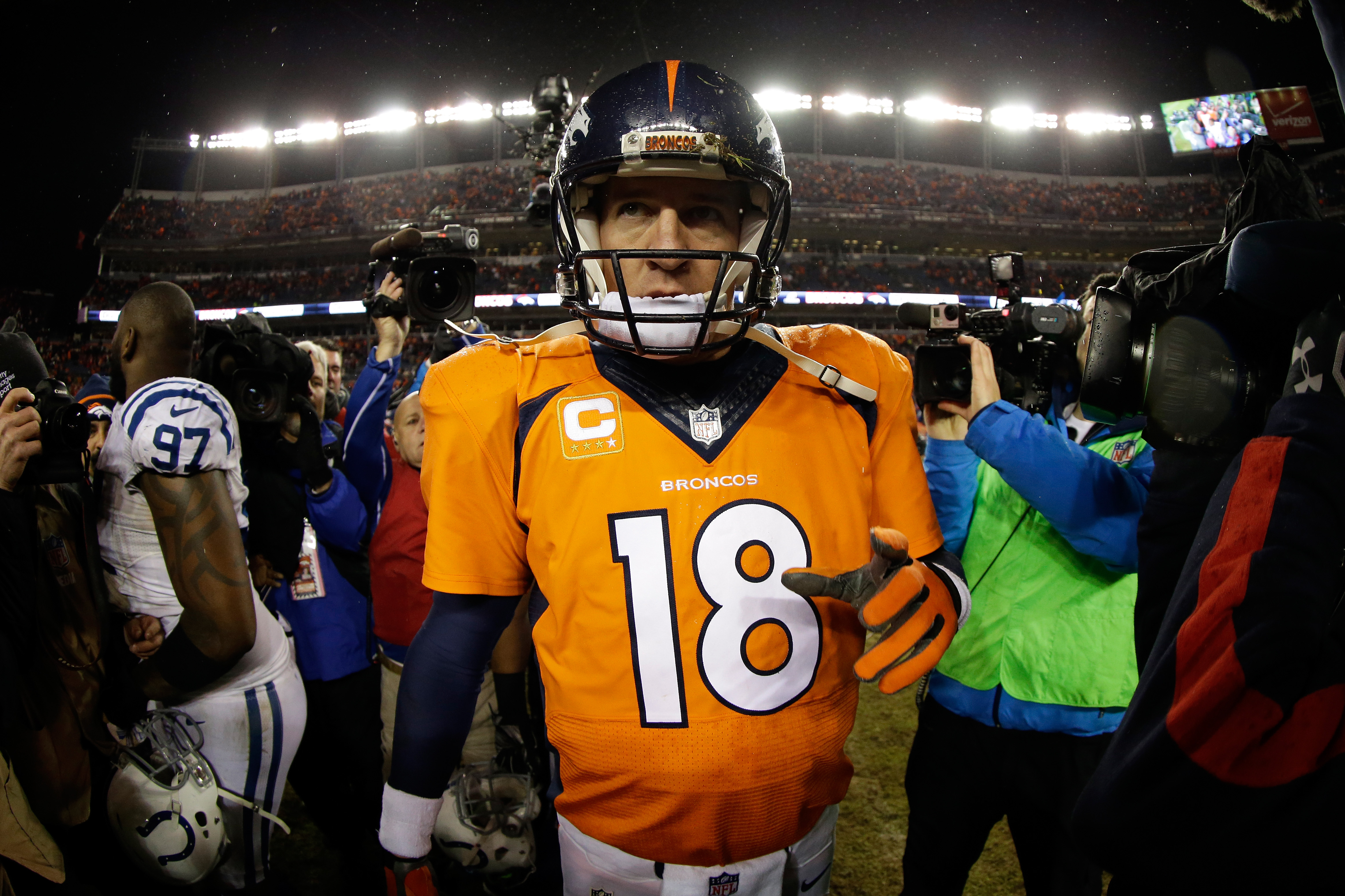 Peyton Manning, Broncos vs. Colts 2015 playoffs, Broncos 2015 win total, NFL prop bets 2015