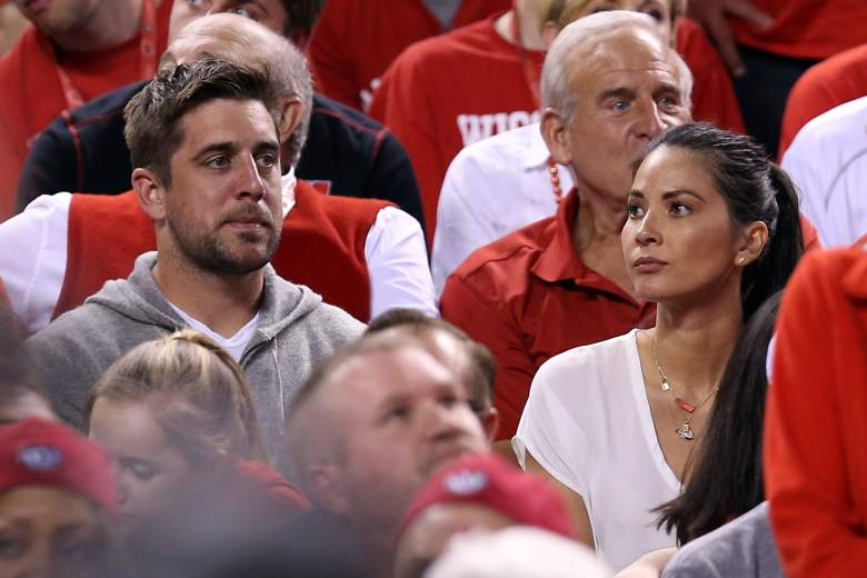 The two were at the Wisconsin-Duke final four mens basketball game earlier this year. Getty)
