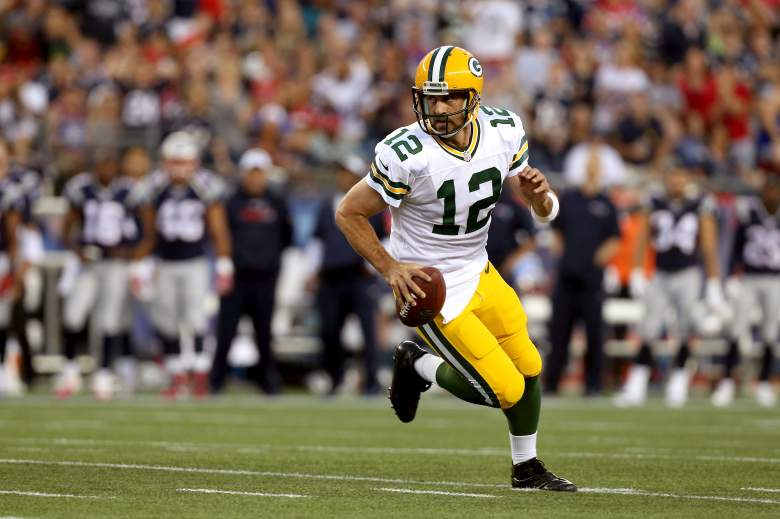 Aaron Rodgers is 11-3 vs. the Bears his career. Getty)