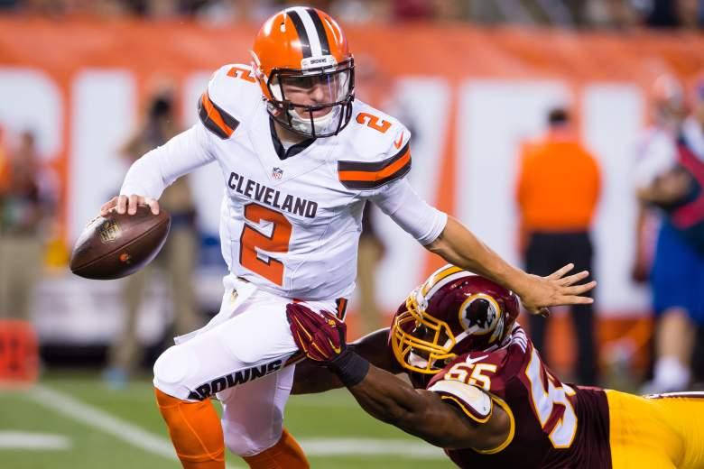 Johnny Manziel, Cleveland Browns
