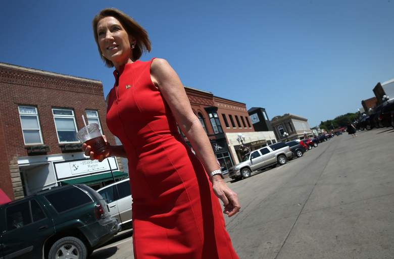 Carly Fiorina's first marriage