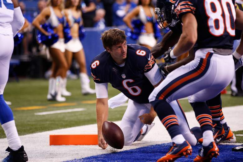 Jay Cutler is 1-10 vs. the Packers with 21 interceptions in his career. Getty)