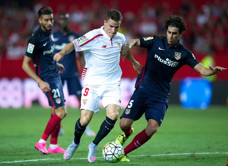 Atletico secured an impressive 3-0 win at Sevilla before the international break. Getty)