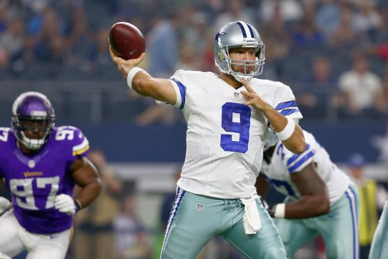 Tony Romo, Dallas Cowboys, NFL, NFL Preseason