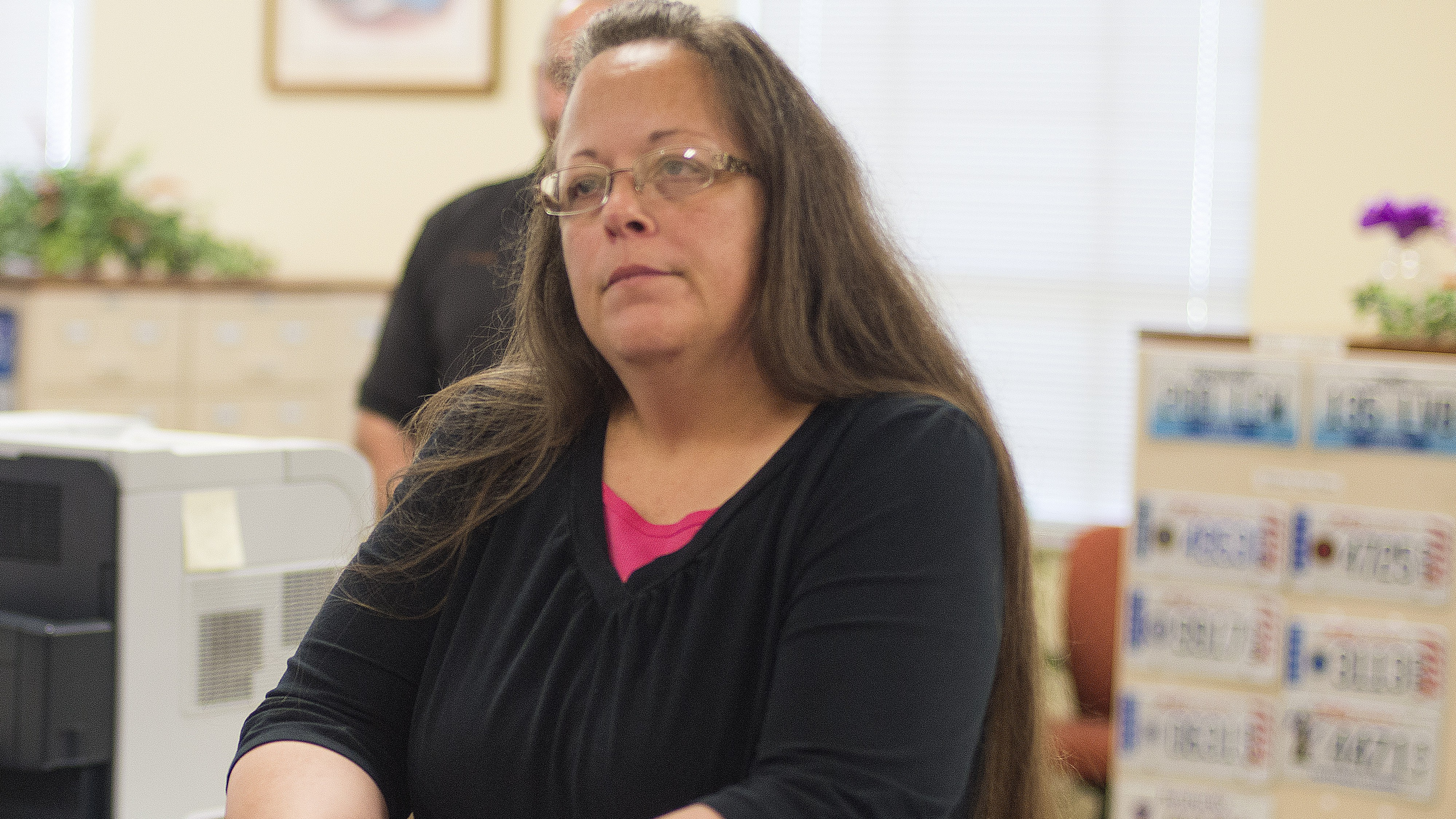Kim Davis, Kim Davis jail, Kim Davis judge, Kim Davis contempt of court