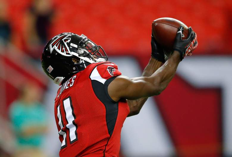 Falcons receiver Julio Jones is expected to have another productive season. (Getty)