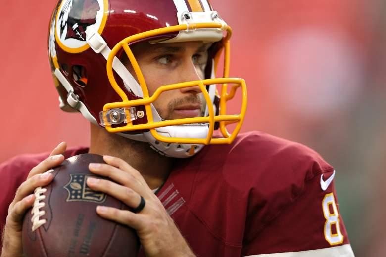 Kirk Cousins, Washington Redskins, NFL Week One