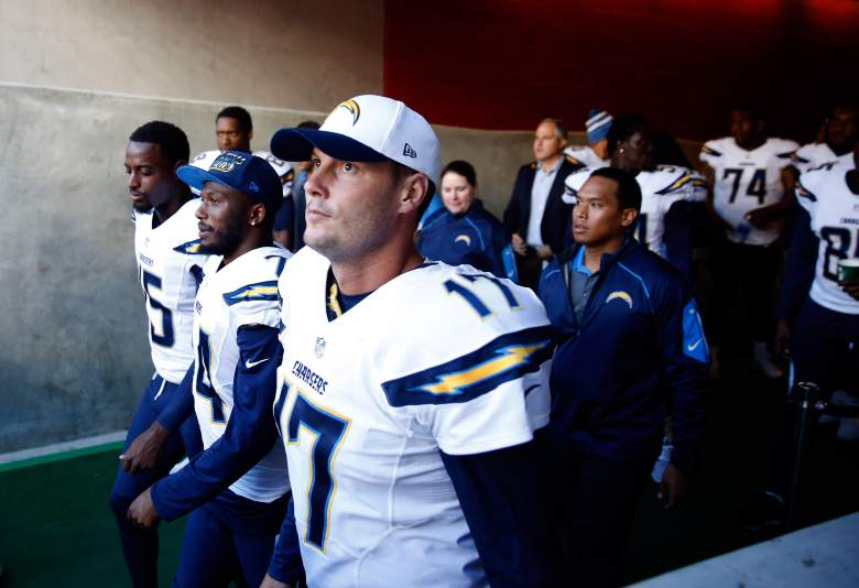 Philip Rivers and the Chargers face the Detroit Lions. (Getty)