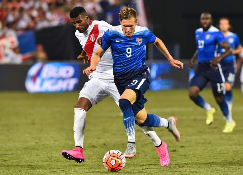 Aron Johannsson has close to 20 caps for the U.S. (Getty)