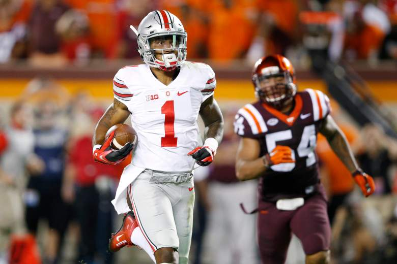 Braxton Miller had an amazing performance against the Hokies. -Getty