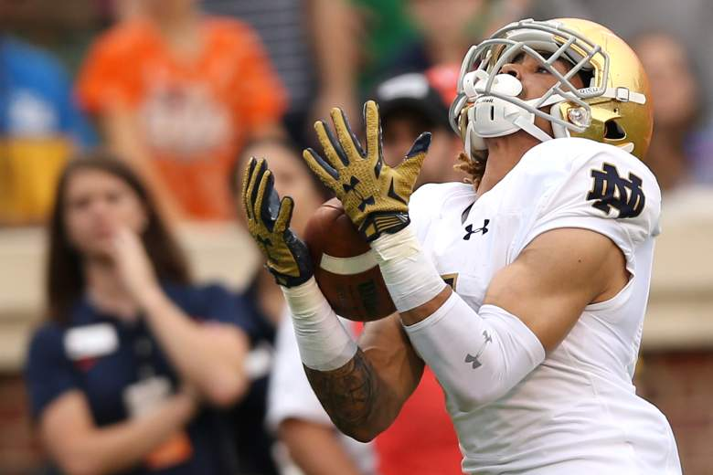Will Fuller provides the Notre Dame offense with explosiveness. (Getty)